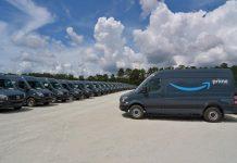 Amazon commande 20 000 Sprinter Mercedes
