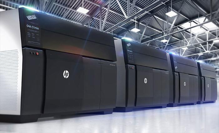 HP Metal Jet imprimantes 3D