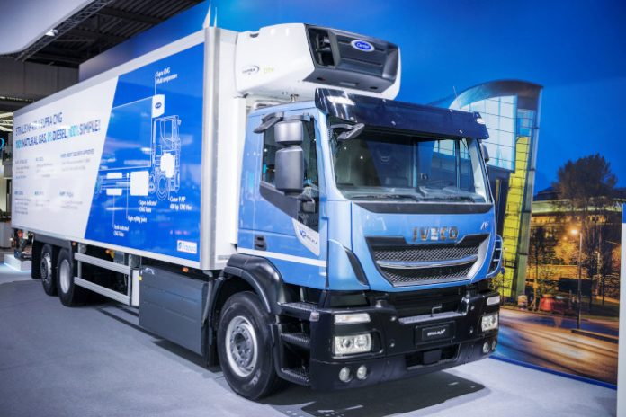 IAA 2018 Iveco Stralis NP 400 Carrier