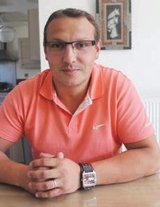 Jérémy Ghienne, fondateur, JG Électricité