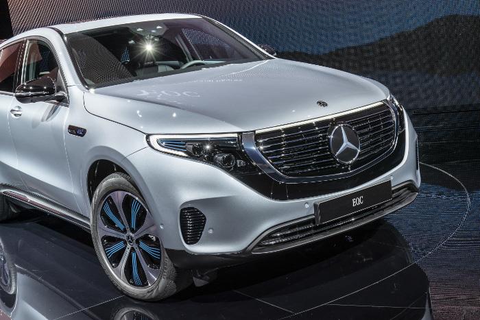 Mercedes EQC calandre