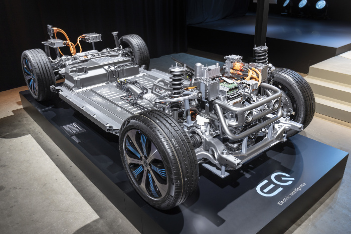 Mercedes EQC chassis