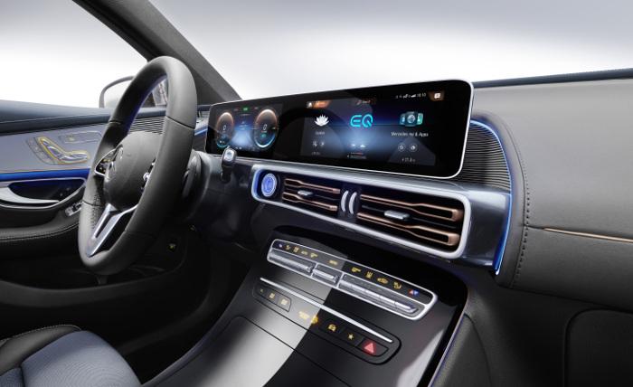 Mercedes EQC tableau bord