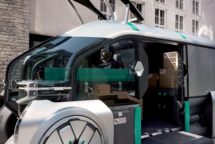 Renault EZ Pro cabine