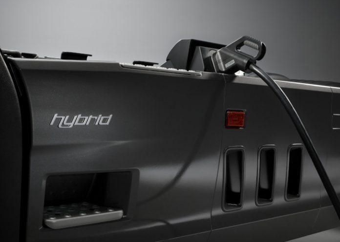 Scania VU hybride recharge