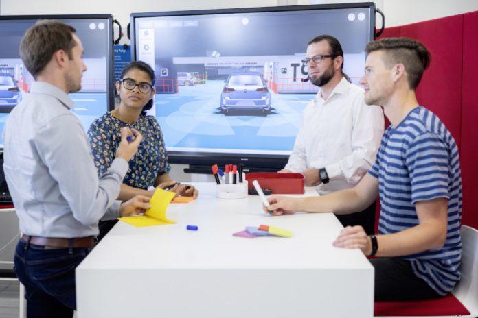Volkswagen essais virtuels