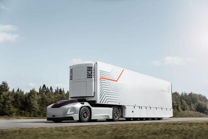 Volvo Trucks camion autonome