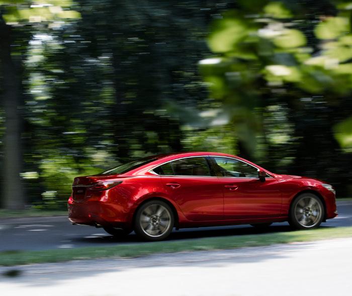 2018 Mazda Mazda6 Camshaft: Nouvelle Mazda6 : Version