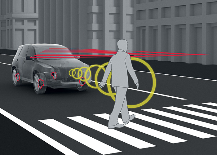 Toyota – Reconnaissance de piéton