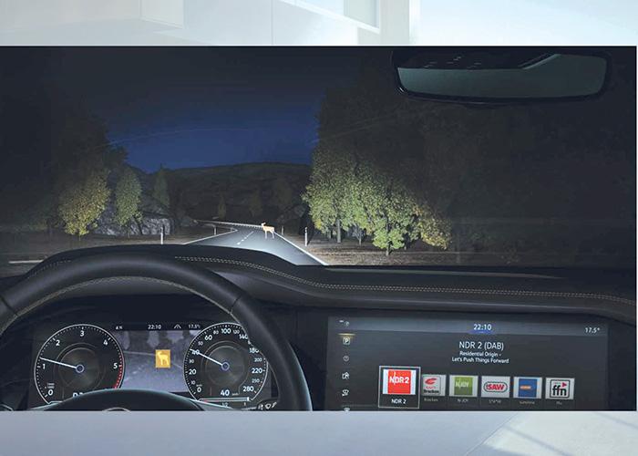 Volkswagen Touareg – Vision de nuit