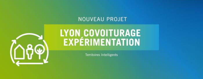 Lyon Covoiturage Expérimentation : nouveau projet lancé par SystemX