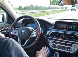 Conduite autonome - BMW Série 7 autonome