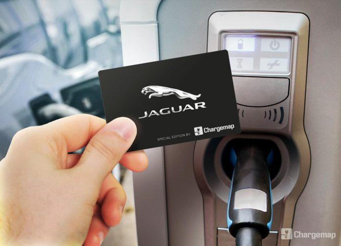 Chargemap partenaire de Jaguar