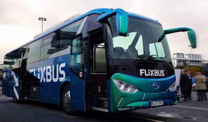 Flixbus autocar électrique