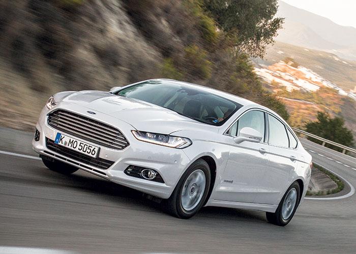 Le WLTP a fait grimper la Ford Mondeo Hybrid à 101 g. Elle n'a donc plus droit à l'exonération de TVS sur trois ans. C'est dommage car c'était l'un de ses arguments en plus de son prix relativement doux : 38 800 euros en Titanium Business.