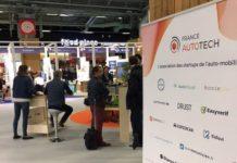 Le stand de France Autotech au Mondial de paris 2018