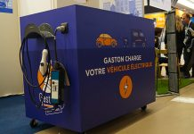Gaston box mobile de recharge électrique