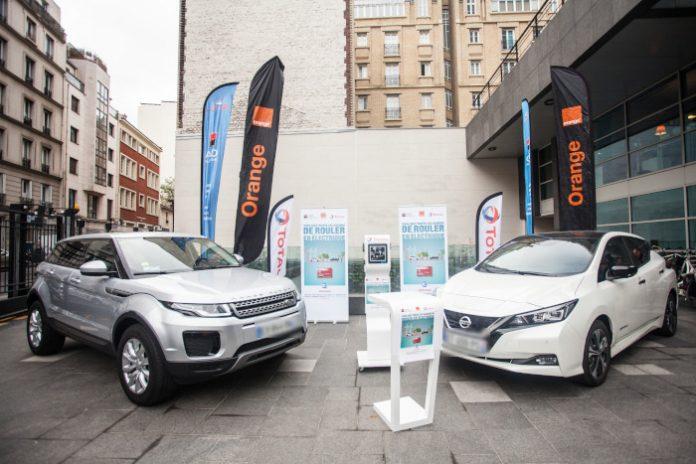 Car policy Orange véhicule électrique