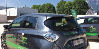 À Grenoble, la flotte en autopartage électrique de Schneider Electric comprend 12 Renault Zoé réparties dans quatre sites. En pratique, les utilisateurs doivent adhérer au service en ligne via la solution Auto- Partage.