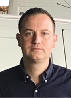 Alexandre Zbinden, responsable des services transport, logistique et espaces verts, groupe hospitalier de la Haute-Saône