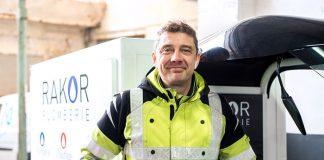 Benoît Quettier, gérant, Rakor Plomberie