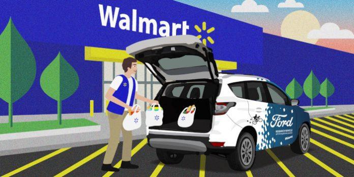 Des véhicules autonomes pour la livraison à domicile de Walmart