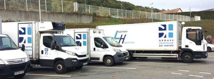 Fort d'une flotte de 149 véhicules, le groupe hospitalier du Havre a notamment procédé à l'acquisition de cinq véhicules électriques qui répondent à des besoins spécifiques dans l'agglomération, en fonction de leur autonomie.