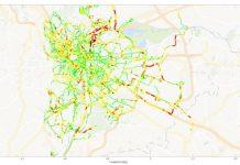 Projection des émissions sur le territoire à parti des données Geco Air. Source : La Fabrique des mobilités