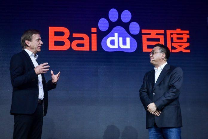 Voitures autonomes Volvo Baidu