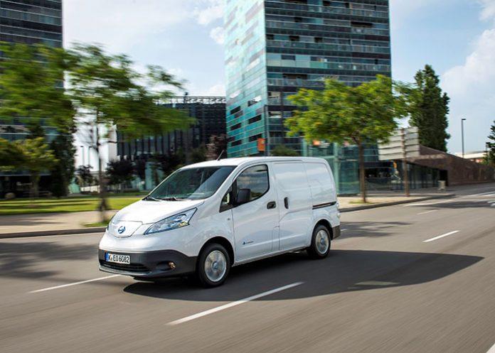 Véhicules utilitaires électriques - Nissan e-NV200
