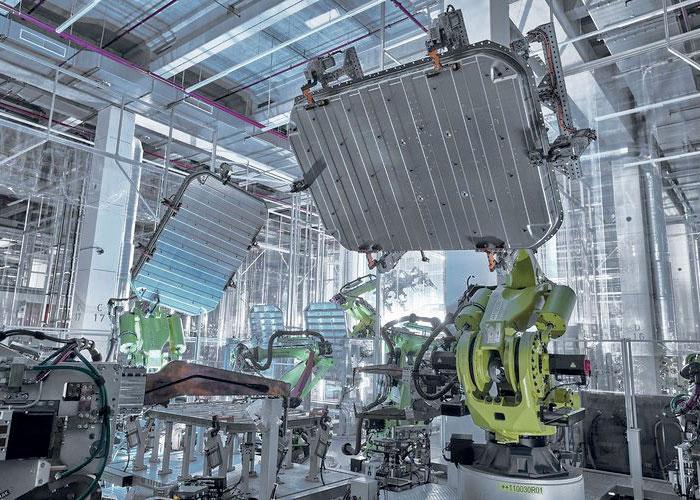Lignes de production : Aluminium durable pour l'Audi e-tron