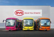 BYD livre ses bus à Dunkerque