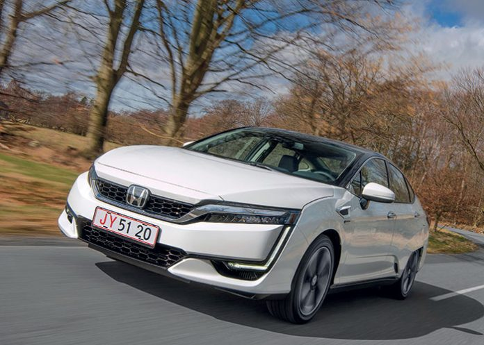 Véhicules à hydrogène - Honda Clarity Fuel Cell
