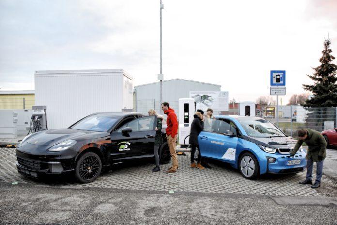 Projet Fast Charge : inauguration de la station de recharge ultra-rapide de Jettingen-Scheppach (Bavière)