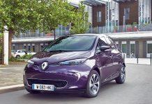 Véhicules particuliers électriques - Renault Zoé