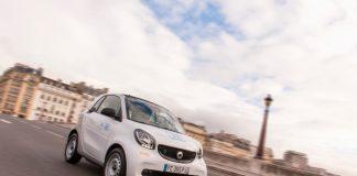 car2go dispose de 400 smart EQ fortwo à Paris.