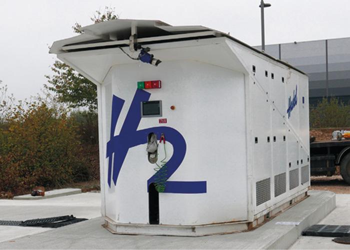 Déjà engagée dans l'hydrogène, la communauté d'agglomération du Grand Dole a inauguré fin 2018 une nouvelle station hydrogène. Une dizaine de véhicules hydrogène, dont un pour la collectivité, devrait l'utiliser à terme.