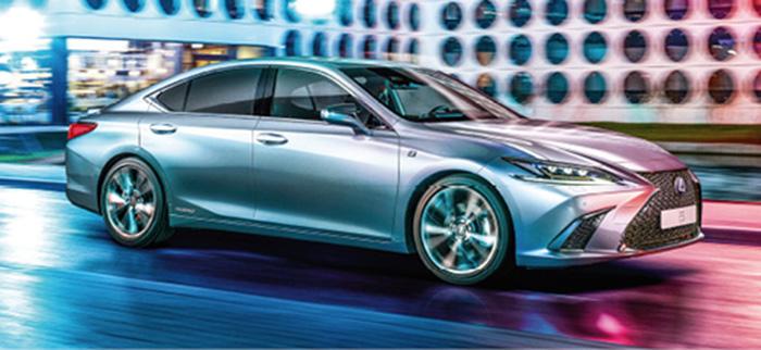 Nouvelle Lexus ES 300h Hybride