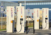 Inauguration de huit points de recharge électrique sur les aires de Chartres-Bois-Paris et de Chartres-Gasville de l'autoroute A11, installées par SPIE.