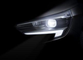 2019 Opel Corsa IntelliLux LED matrix light