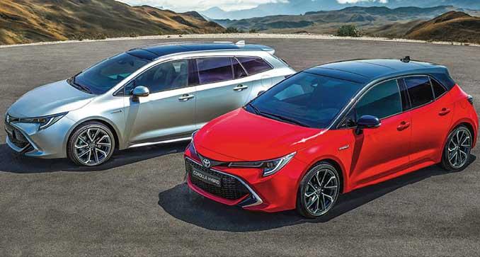 Nouvelle Toyota Corolla et Corolla TS hydribe