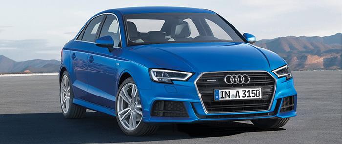 Avec la berline compacte Audi A3, le 1.6 TDI affiche 116 ch à 114 g pour 30 620 euros ou 32 270 euros avec la boîte auto S-Tronic 7 pour 103 g. Le 2.0 TDI officie en 150 ch à 117 g en S-Tronic 5 (34 850 euros).