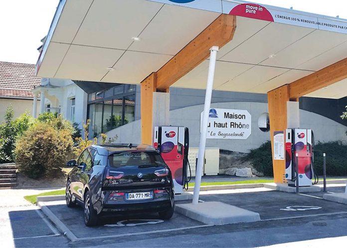 Recharge électrique - Compagnie nationale du Rhône (CNR)
