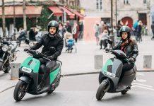 Coup scooters électriques