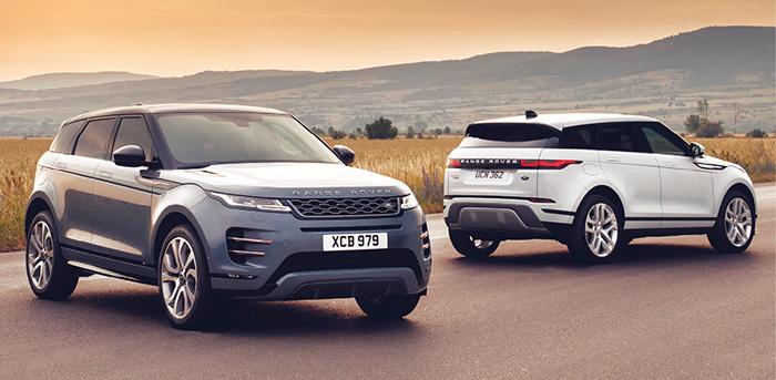Le nouvel Evoque de Land Rover se décline avec le 2.0 turbodiesel en 150 ch (4x2, à partir de 39 350 euros, 143 g), en 180 ch (4x4, à partir de 46 650 euros, 150 g) et en 240 ch en 4x4 également (à partir de 50 500 euros, 163 g).