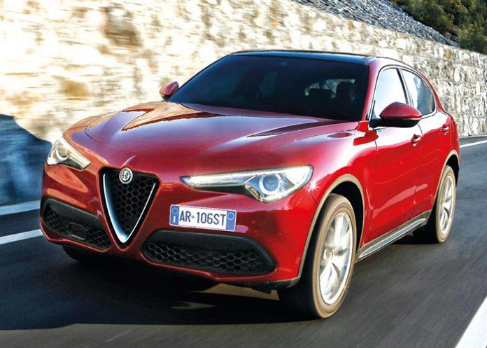 Alfa Romeo Stelvio - Packs business 2019 - Segment D : berlines et SUV routiers