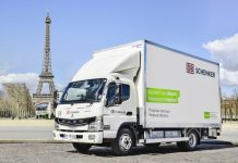 DB Schenker Fuso eCanter Paris