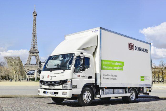 DB Schenker Fuso eCanter Paris