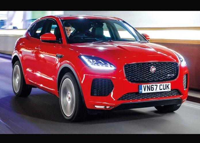 Jaguar E-Pace - Packs business 2019 - Segment C : SUV et monospaces compacts