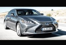 Lexus ES - Packs business 2019 - Segment E : grandes berlines et grands SUV